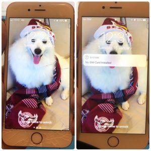 銅鑼灣iPhone 6S 爆玻璃