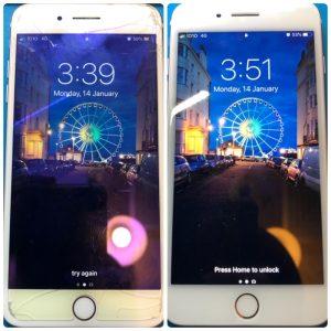 銅鑼灣iPhone 7Plus爆mon
