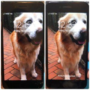 iPhone8爆mon維修