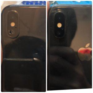 iPhoneX 後鏡頭玻璃更換