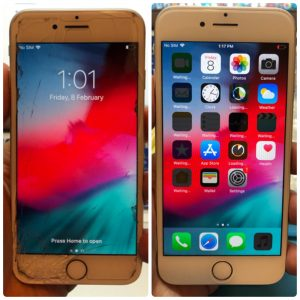 觀塘iPhone7 爆mon維修