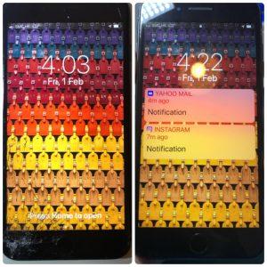 觀塘iphone 6Plus爆玻璃維修