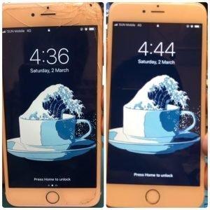 iPhone6 Plus爆玻璃的維修